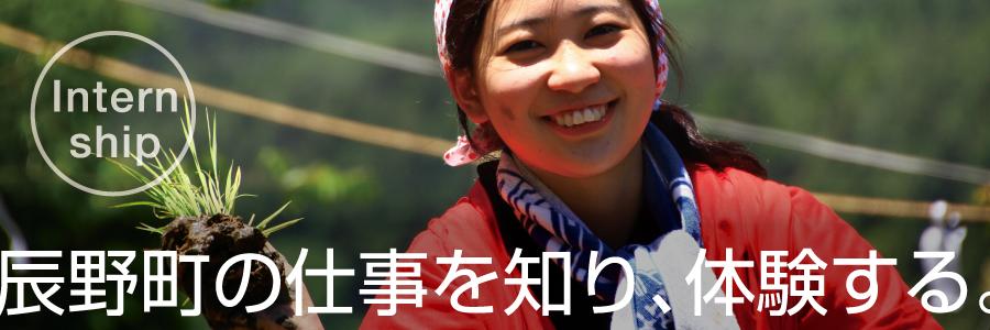 internship辰野町の仕事を知り、体験する。